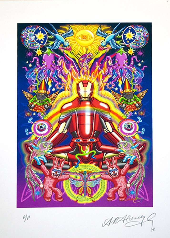 Alan Aldridge-Limited Edition A/P Iron Man