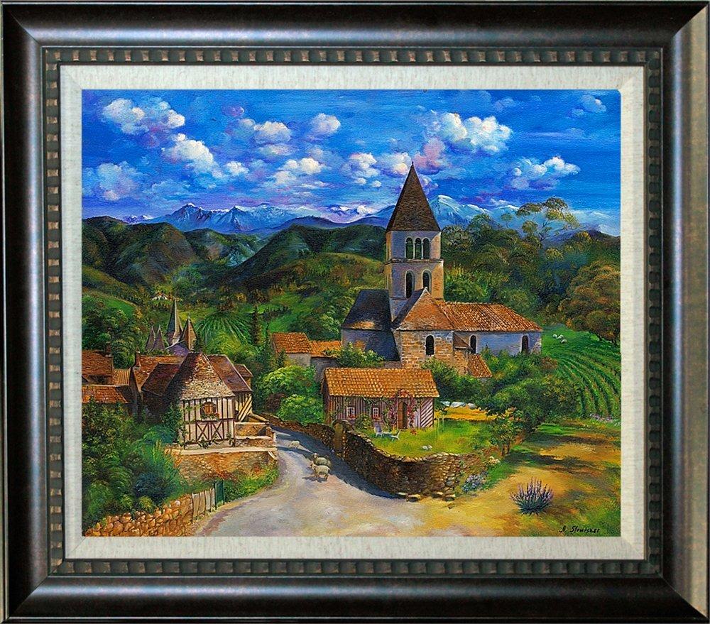Arina Original Oil Celtic Village