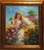 Original Oil by Cellini