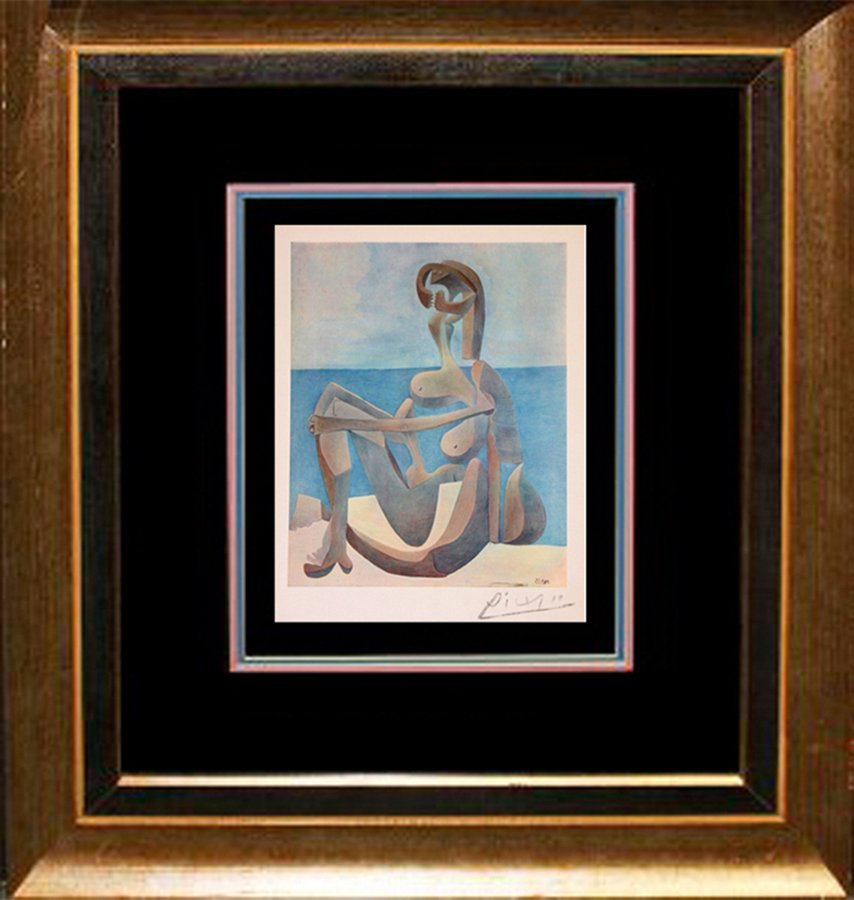 Lithograph Pablo Picasso Hand Signed
