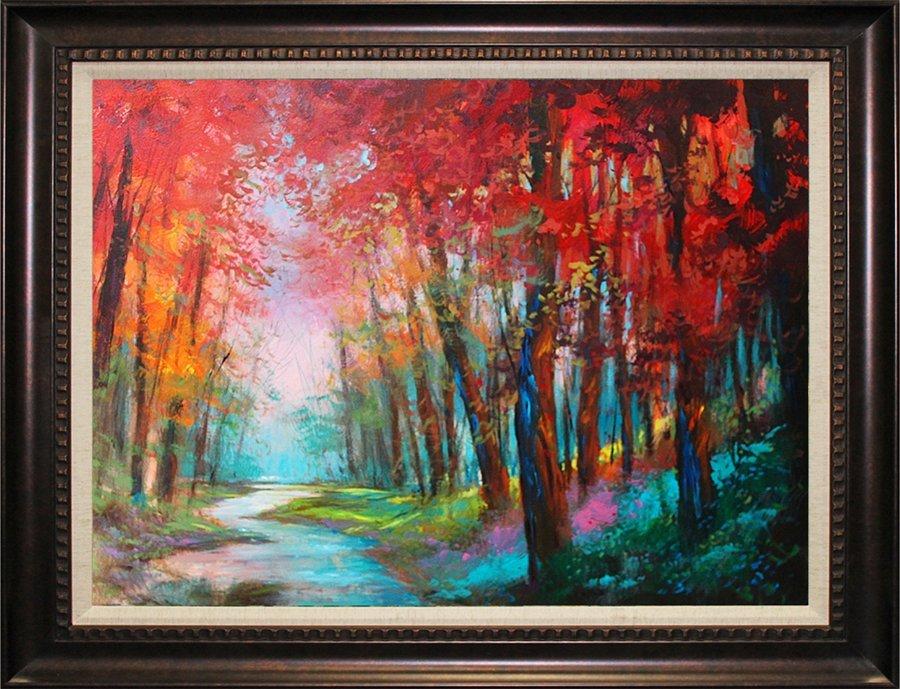 Original on canvas Michael Schofield