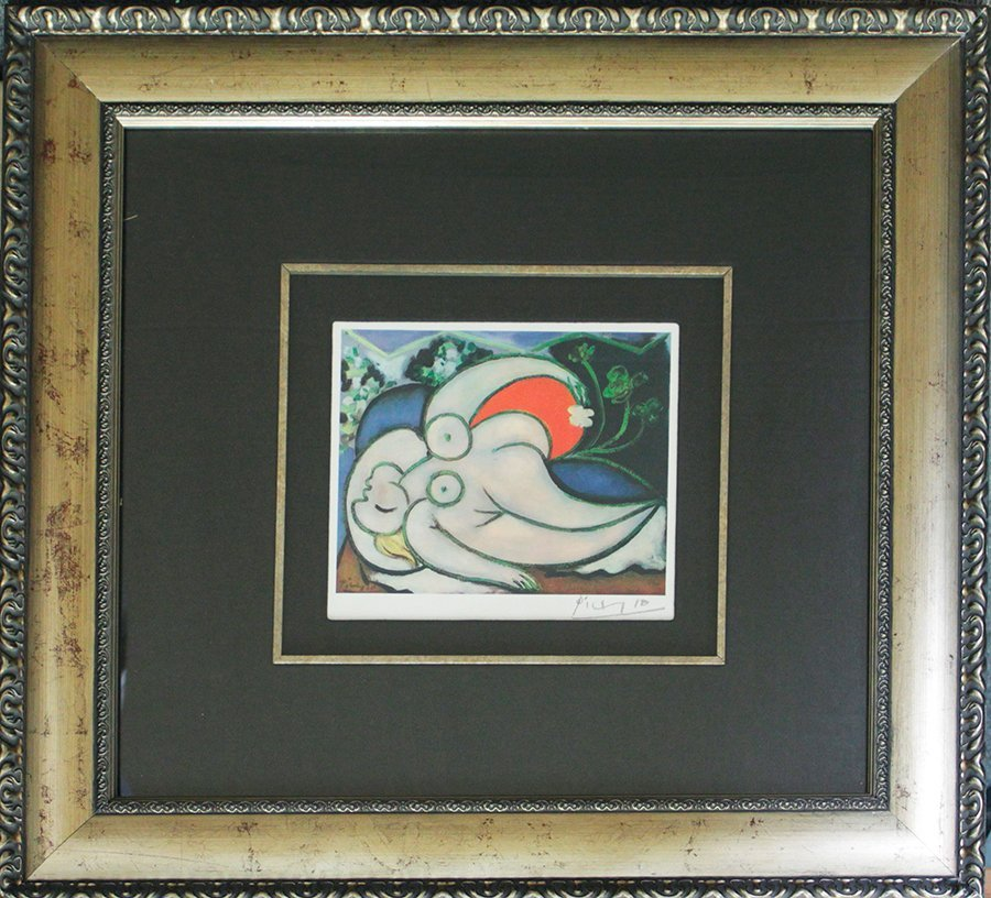 Pablo Picasso Hand Signed Lithograph
