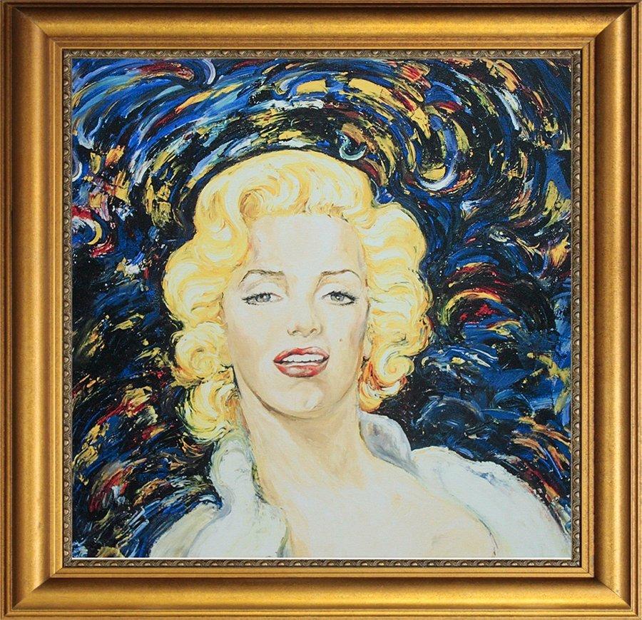 Arina Original Oil Marilyn Monroe