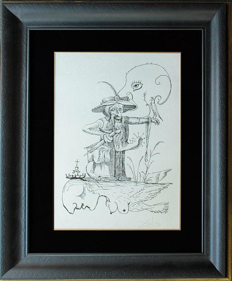 Original Lithograph Pantagruel's Comical Dreams by