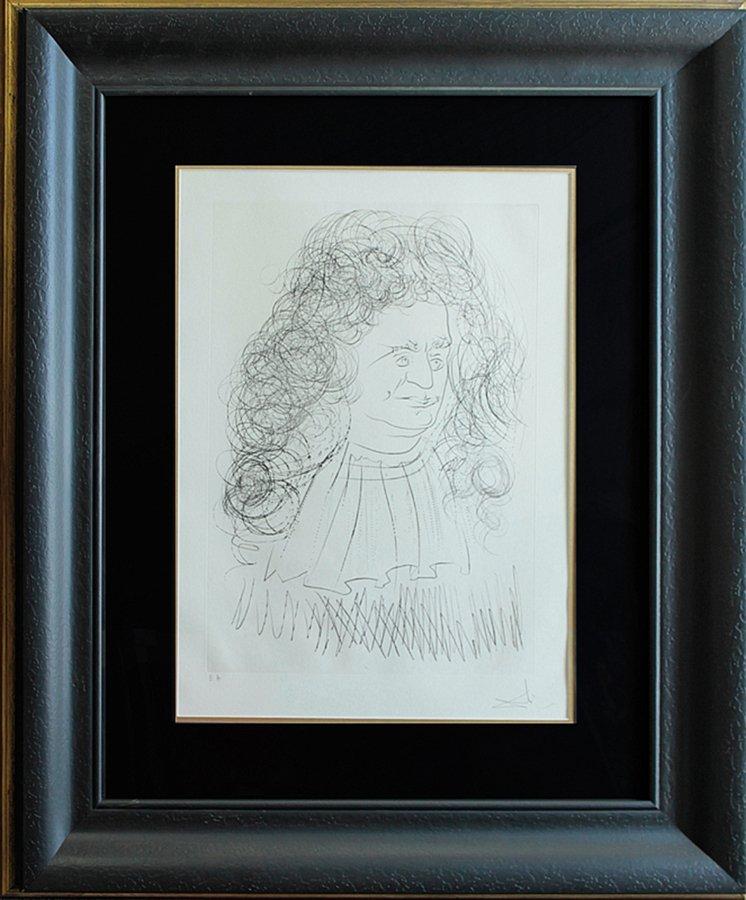 Original Lithograph Salvador Dali Limited Edition Hand
