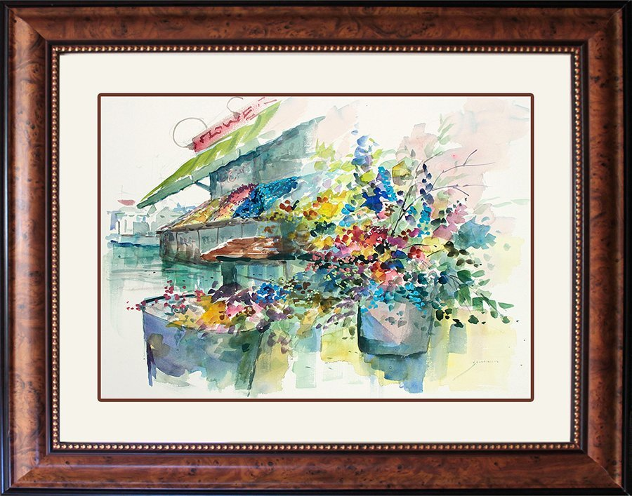 Signed Original Michael Schofield Watercolor
