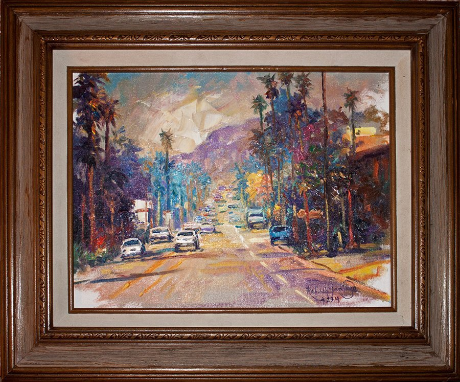 Hand Signed Original Plein Air Oil on canvas by Rafael