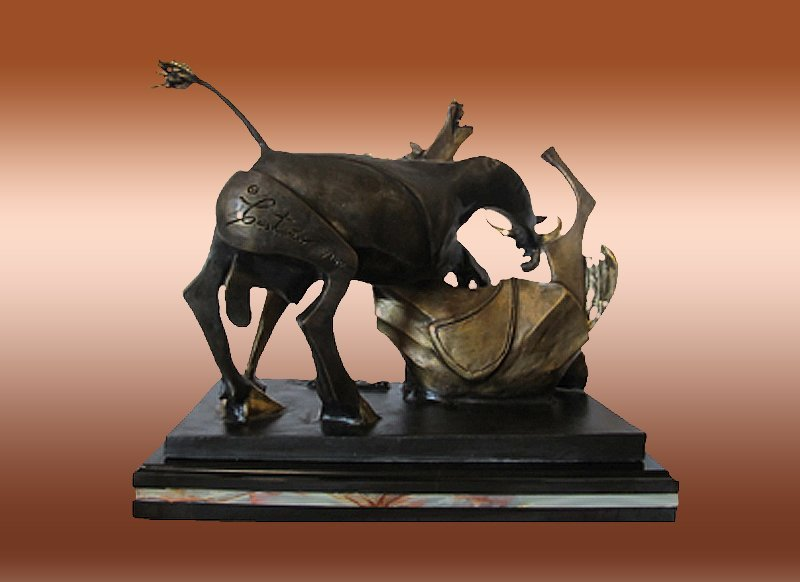 The Bullfight After Pablo Picasso Bronze Sculpture