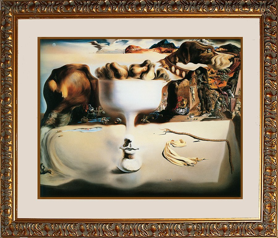 Salvador Dali  Apparition of Face