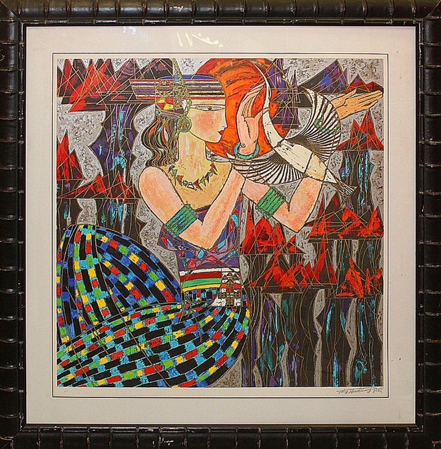Serigraph Limited Edition on Japon paper. Hand signed