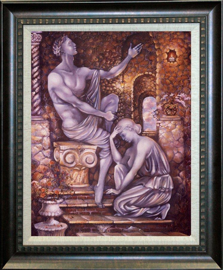Arina Original Oil Figures