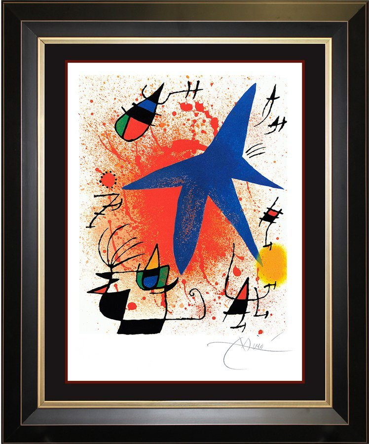 Joan Miro Original Lithograph