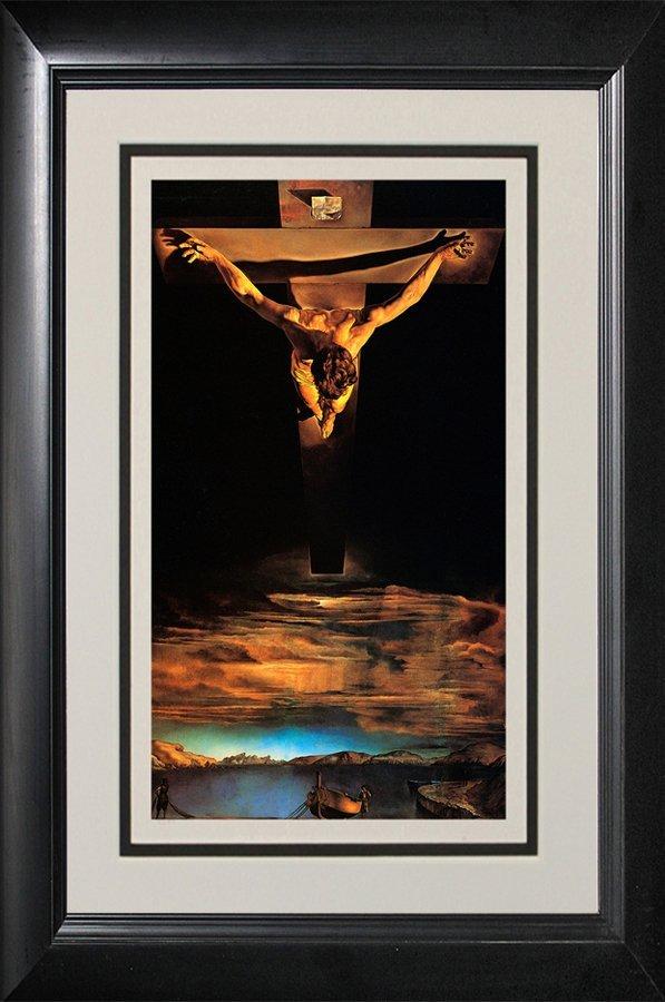 Salvador Dali-Limited Lithograph-Christ St.John on the