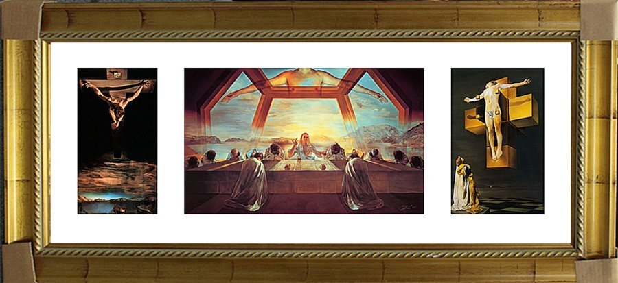 After Salvador Dali Triptyc-Last Supper