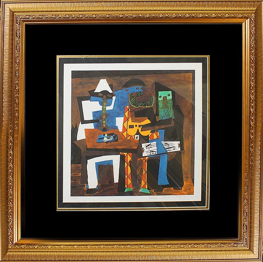 Limited Edition -Three Musicians after Pablo Picasso