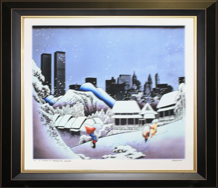 Signed Artist Proof by Cuigin. Ltd Edition Serigraph