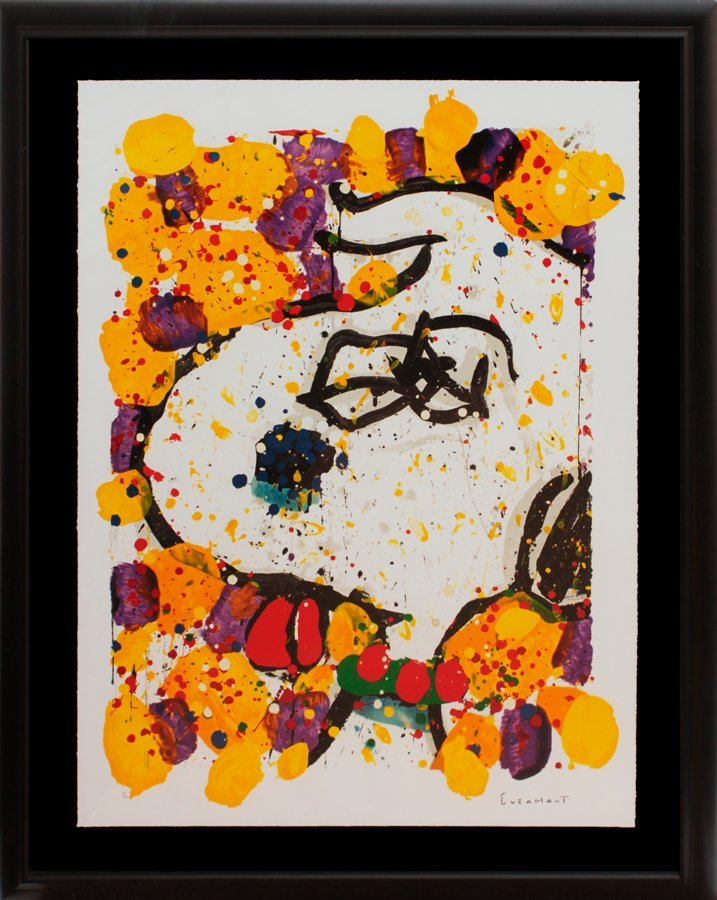 Tom Everhart Snoopy Original Lithograph Limited Edition