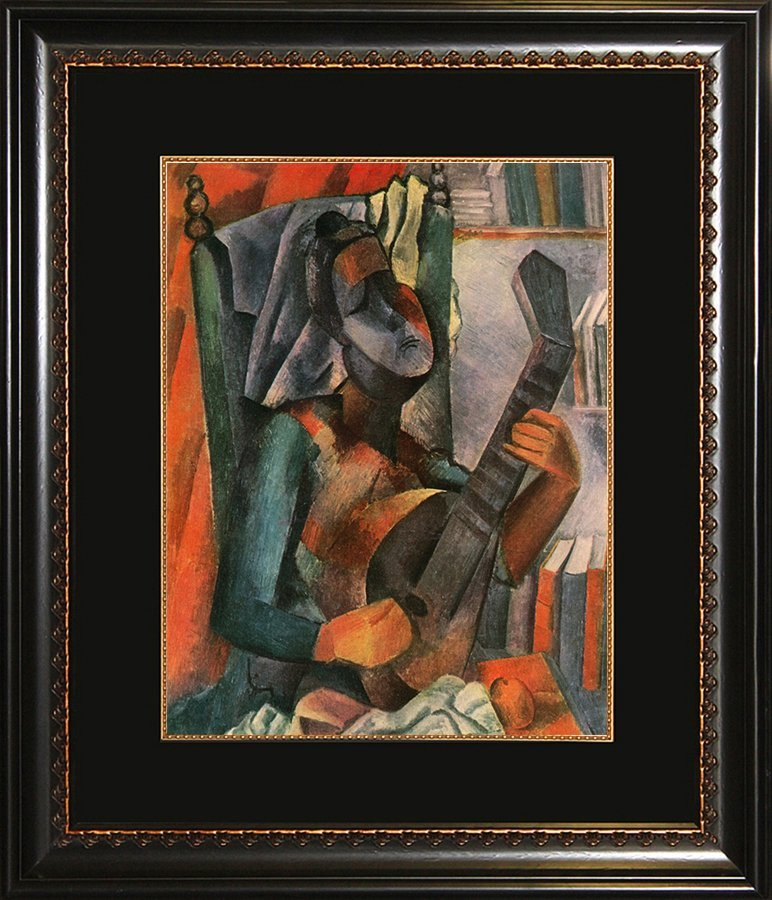 Pablo Picasso original Color Plate Hermitage Collection