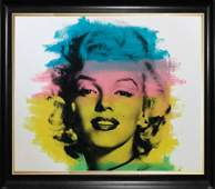 Marilyn Monroe by Stephen Kaufman Limited Edition Hand