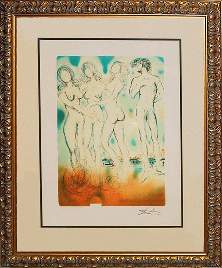 Salvador Dali Birth of Venus Lithograph