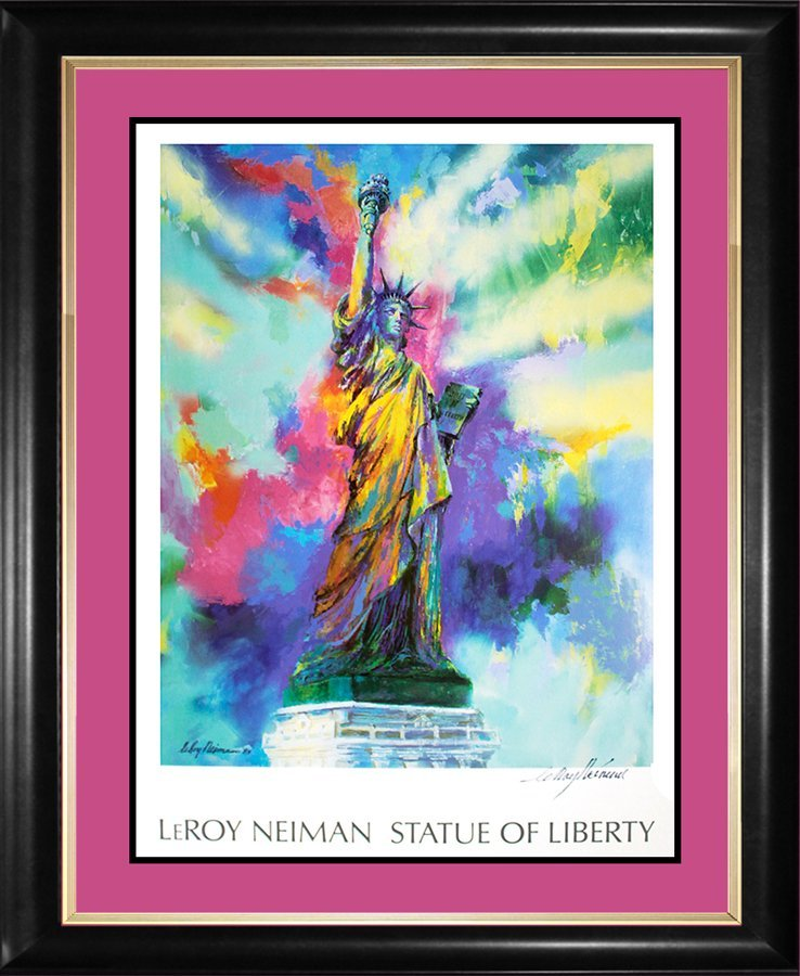 Le Roy Neiman Signed Lithograph Statue of Liberty
