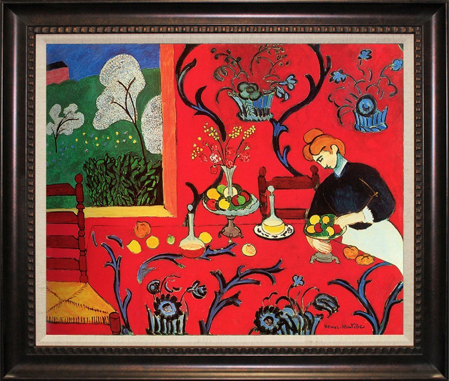 After Henri Matisse-Limited Edition Giclee-The Red Room