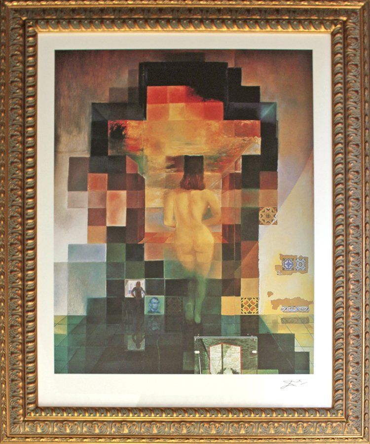Salvador Dali Limited Edition Lithograph Lincolnvision