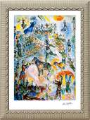 Marc Chagall-Great Circus II Lithograph