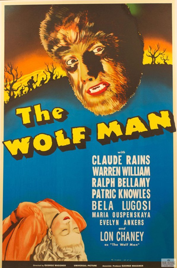 The Wolfman Original Lithograph