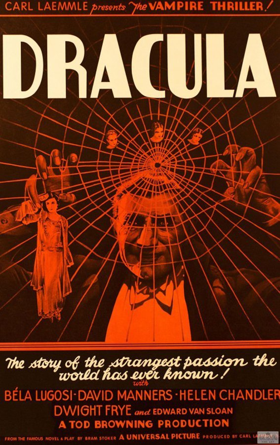 Dracula Original Lithograph