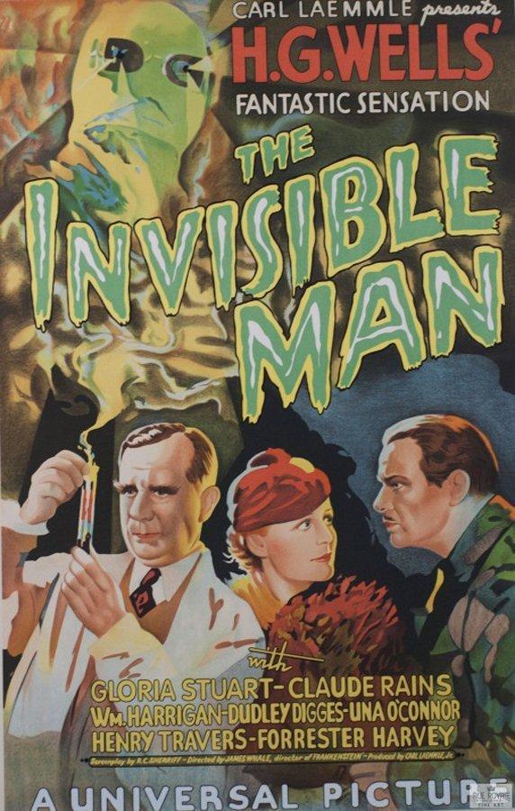 Invisible Man Original Lithograph
