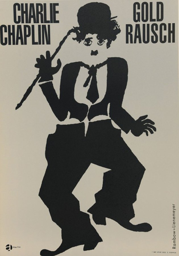 Charlie Chaplin  Original Lithograph