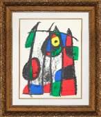 Joan Miro Original Lithograph Hand Signed