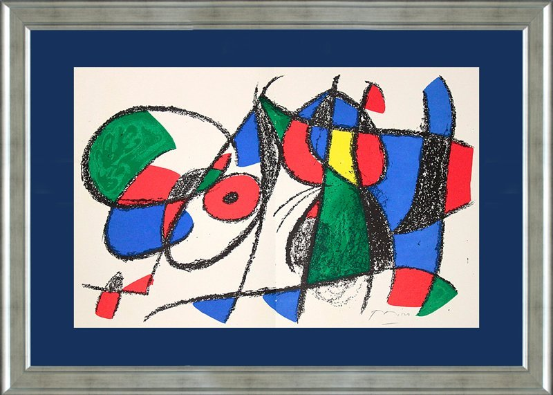 Joan Miro Original Lithograph Hand Signed