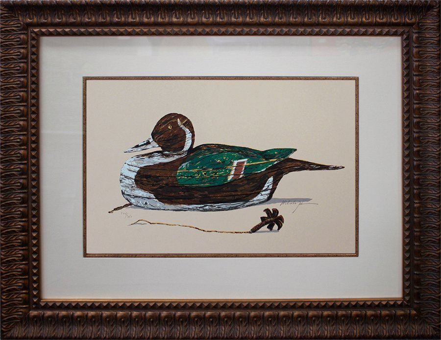 Limited Edition Duck Serigraph Michael Schofield