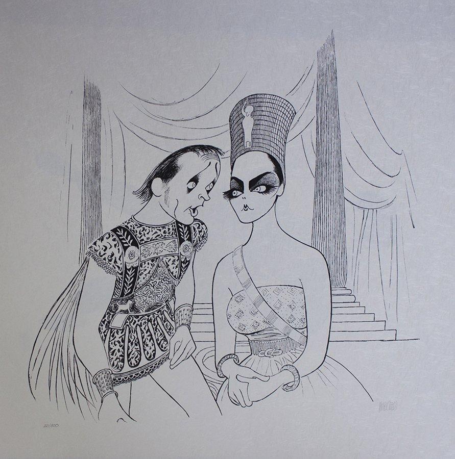 Original Lithograph by Al Hirschfeld