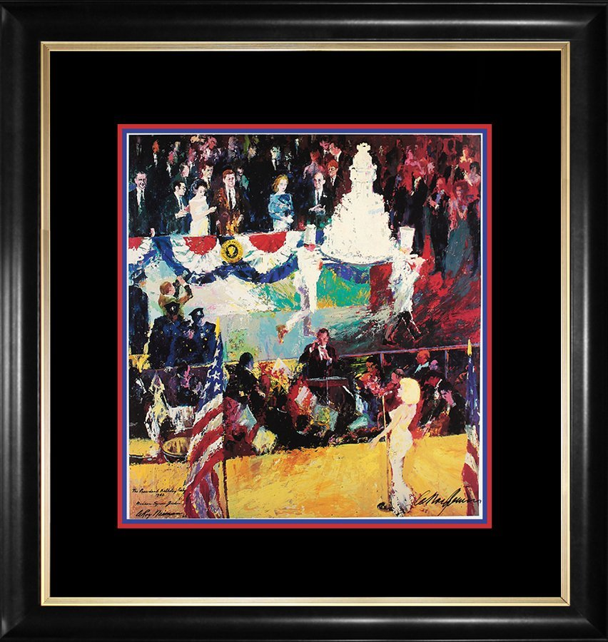 Le Roy Neiman Hand Signed Lithograph