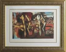 Salvador Dali Limited Edition Lithograph Metamorphosis