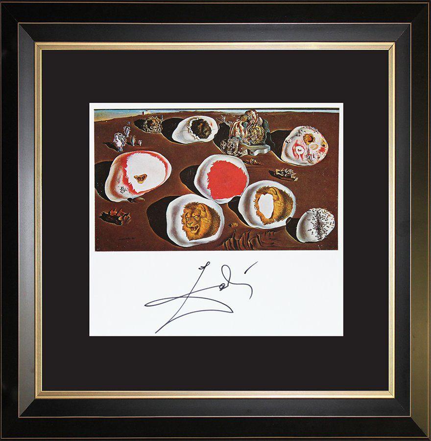 Salvador Dali Hand Signed Lithograph