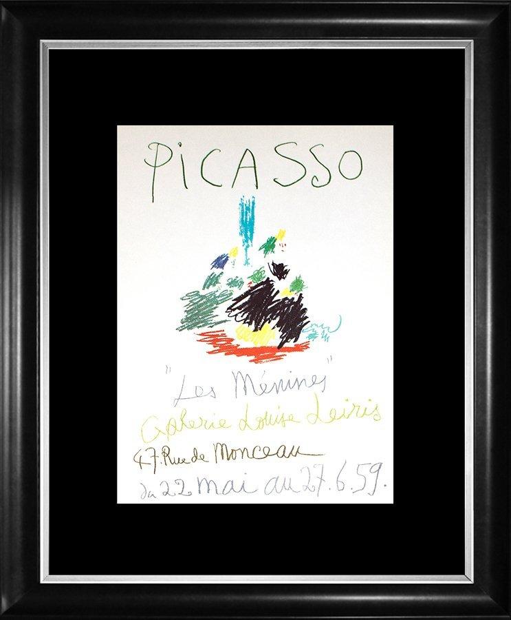 Pablo Picasso Original Lithograph 1964 Mourlot Press