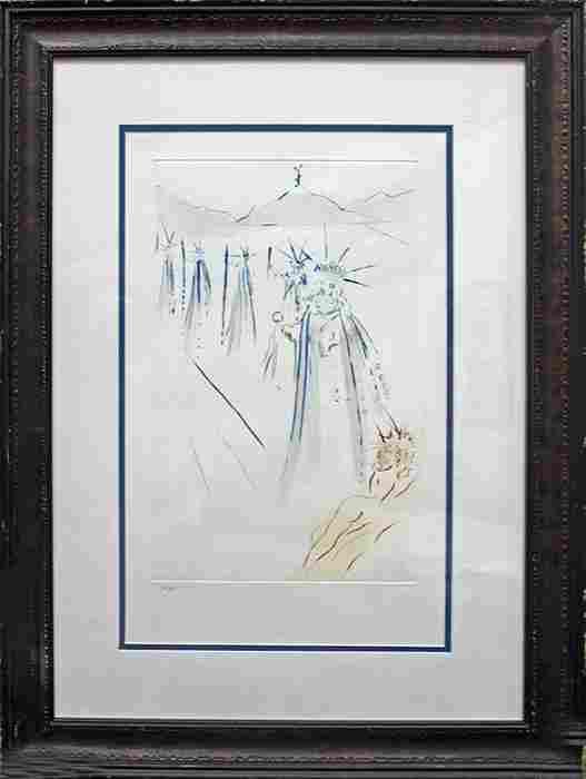 Three Kings Salvador Dali Lithograph
