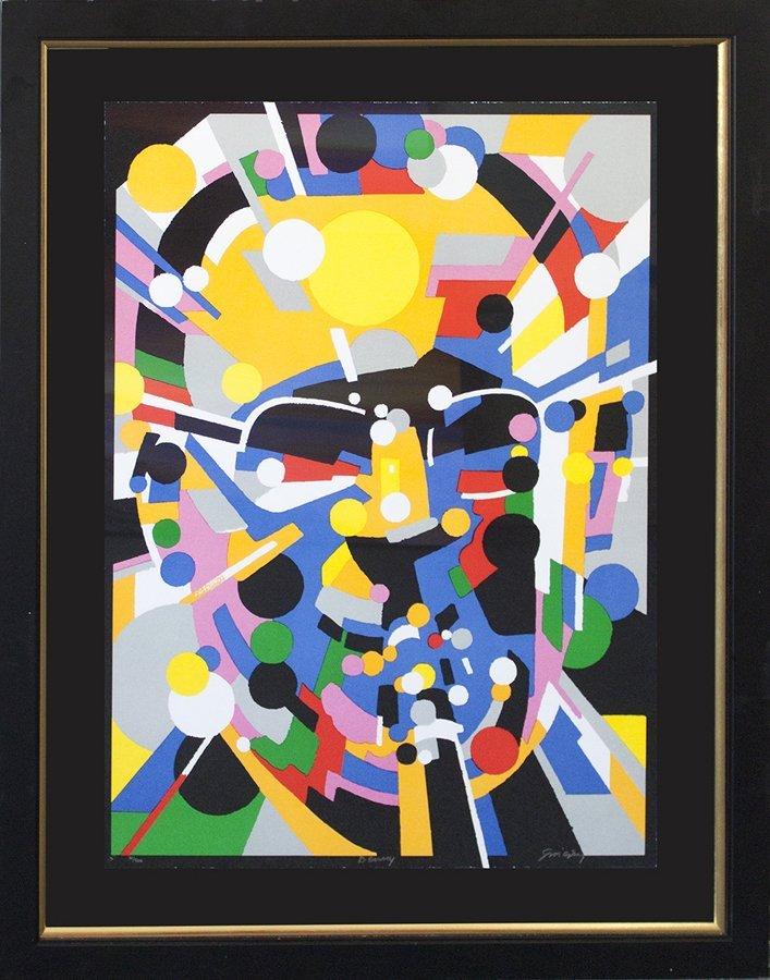 Waldemar Swierzy Original Lithograph Limited Edition