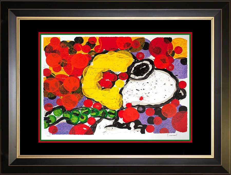 Snoopy by Tom Everhart Original Lithograph Limited