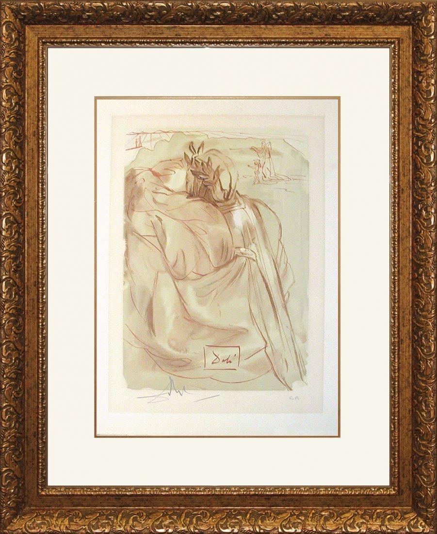 Salvador Dali Limited Edition Lithograph Divine Comedy