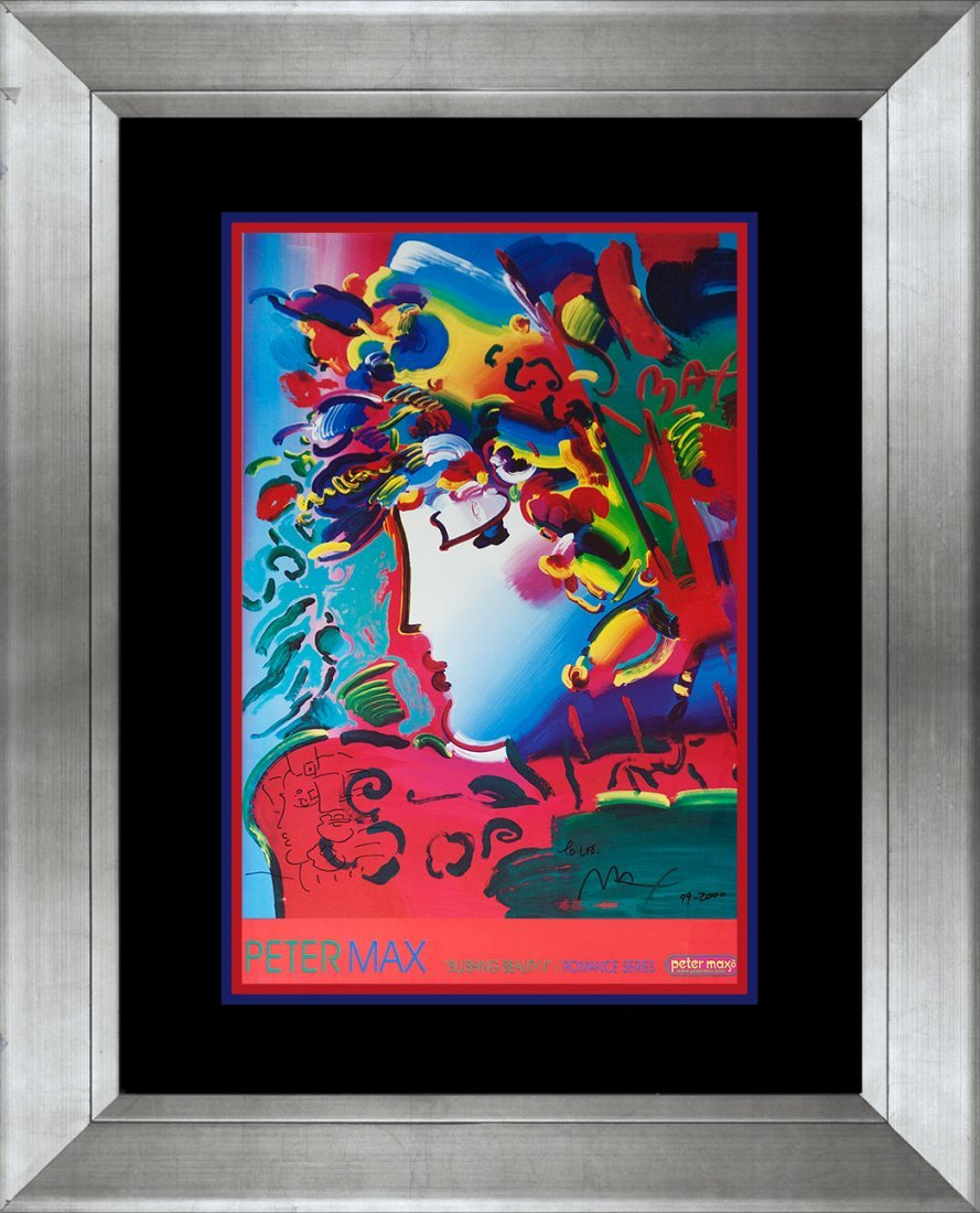 Peter Max Lithograph Hand signed by the artist