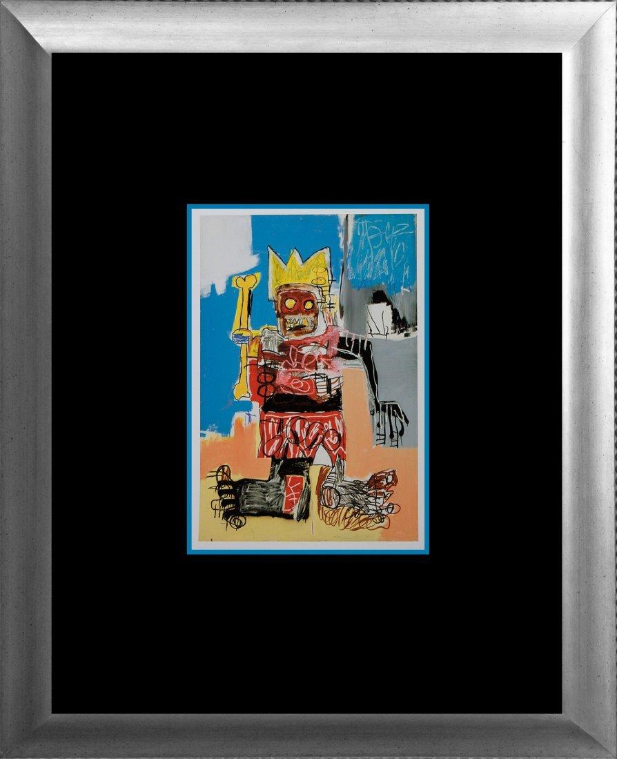 Jean Michel Basquiat original lithograph