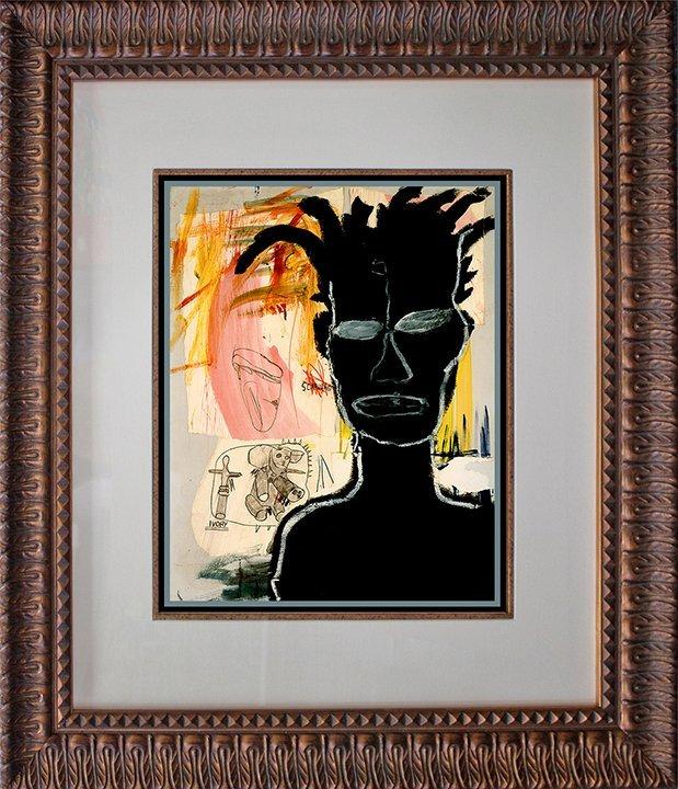 Jean Michel Basquiat original lithograph.