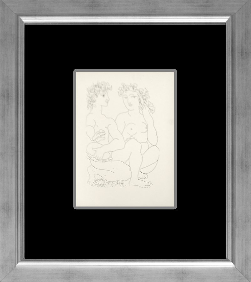 Pablo Picasso Vollard Suite lithograph from 1956