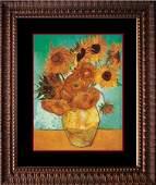 Sunflowers Vincent Van Gogh Hand Embellished Canvas