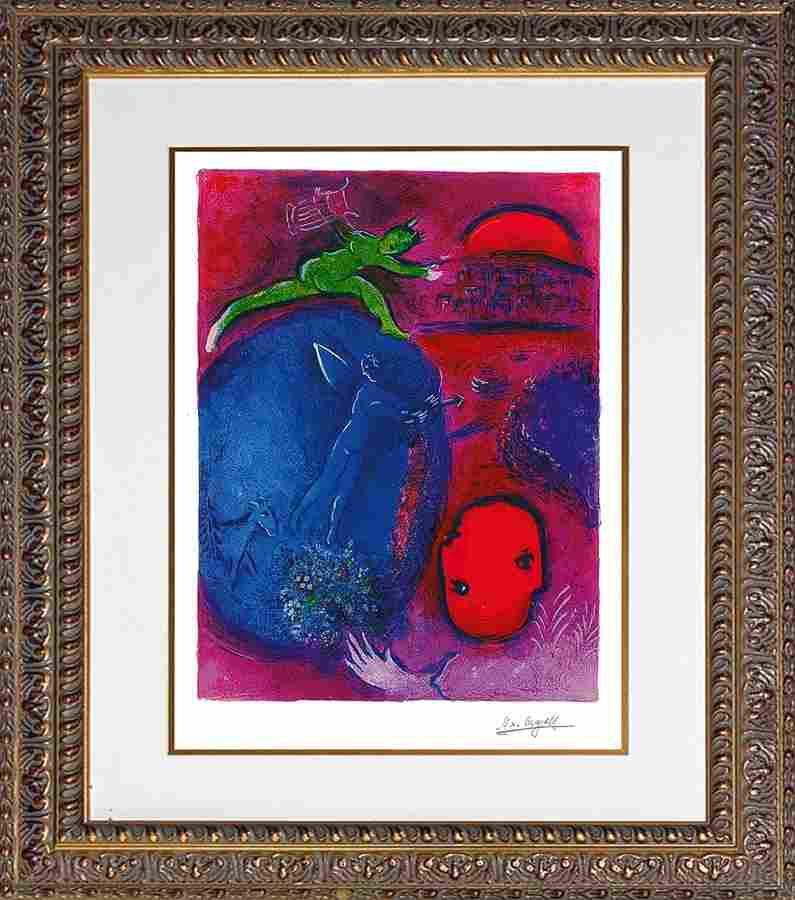 Marc Chagall Limited Edition Circus Acrobats
